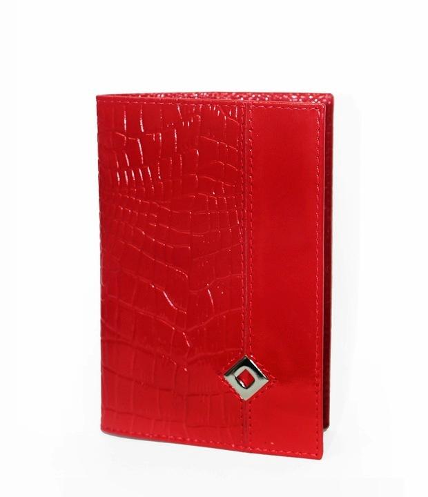 Обложка для паспортаPapillon Rouge Dimanche