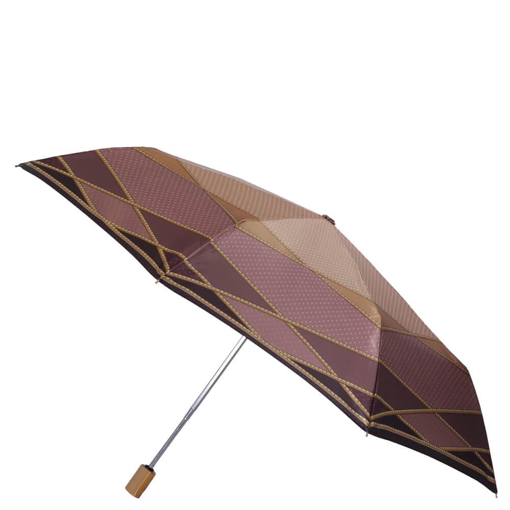 Зонт жен.Fabretti обл.суп.авт,3сл.сатин Италия Fabretti