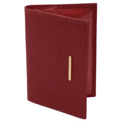 Обложка для паспорта Найс Красный Dimanche