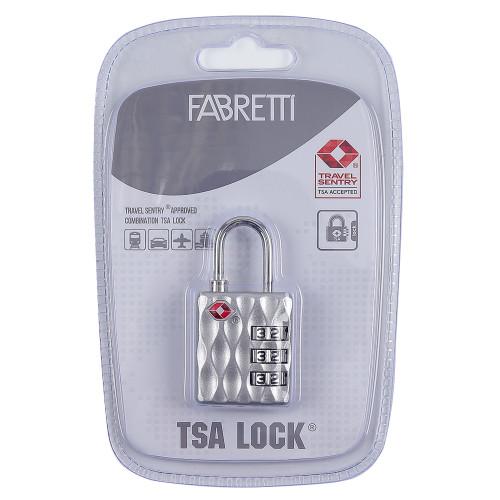 Замок для чемодана кодовый Fabretti сплав цинка Fabretti