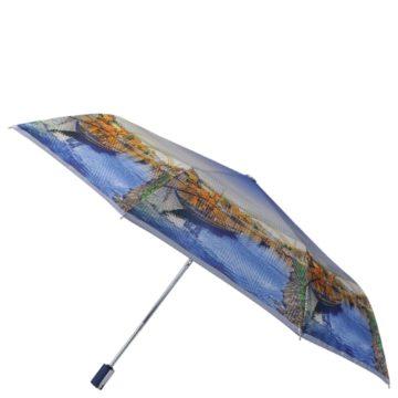 Зонт жен.Fabretti обл.супавт,3сл.сатин Италия Fabretti