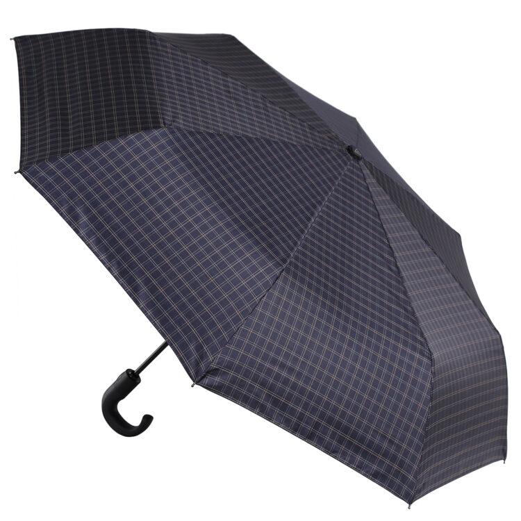 Зонт муж Fabretti, cуперавт, 3 сл., крюк Италия Fabretti